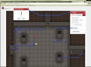 a screenshot of the almost complete level editor